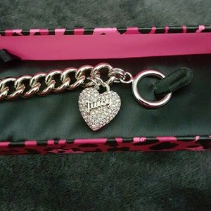 Brand New Juicy Couture Heart Bracelet